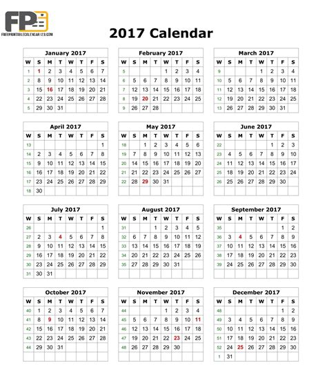 calendar template 2017 calendar templates download 2017 monthly