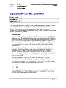 process change management plan template organization change management plan template change