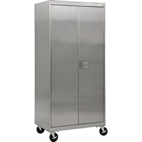 product sandusky buddy stainless steel mobile storage