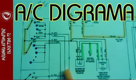 Stop L Honda Accord Cielo 1994 Rh aire acondicionado automotriz diagrama electrico basico