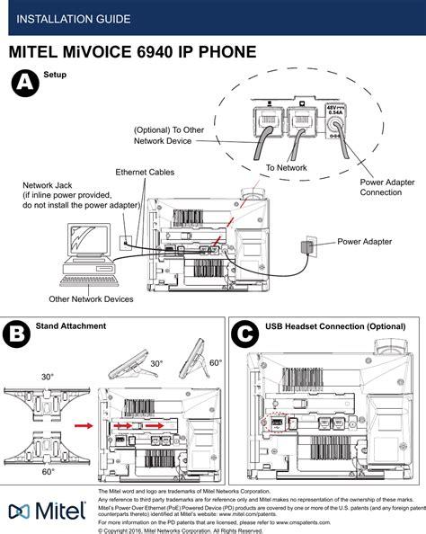 ip installation guide aqua4 ip telephone set with bluetooth user manual mitel