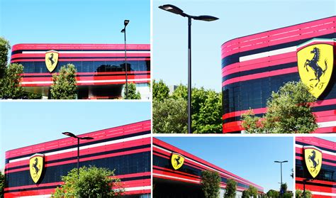 Ferrari Hauptsitz aec illuminazione project for maranello muncipality at the
