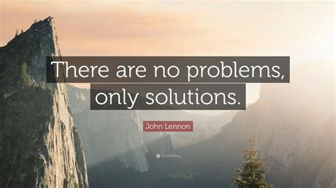 john lennon quote    problems  solutions  wallpapers quotefancy