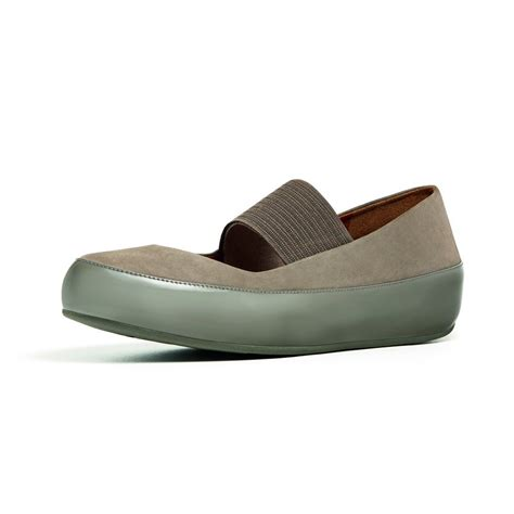 Fitflop Nubuck 1 fitflop due mj in bungee cord nubuck and patent leather fitflop from nicholas thomson uk