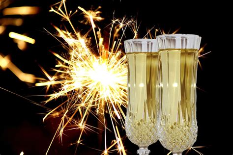 photo  years eve champagne glasses  image  pixabay