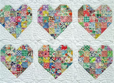 quilt pattern hearts emily s heart quilt q is for quilter