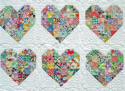 Pattern For Heart Quilt | heart quilt pattern quilts pinterest