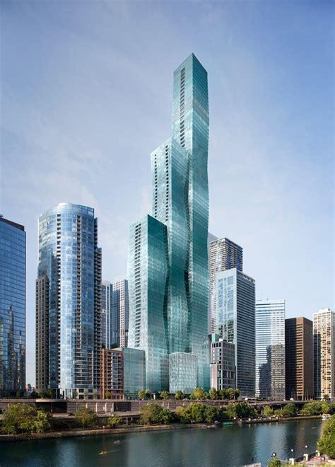 vista tower chicago skyscraper studio gang  architect