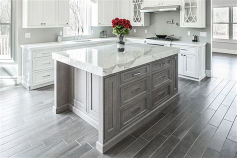 White Marble Kitchen Countertops by Marble Countertops