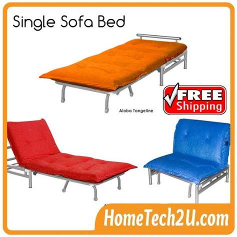 single size sofa bed with reclining function convertible