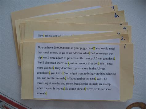 how to make cue cards helping your child write a speech practising my lucky
