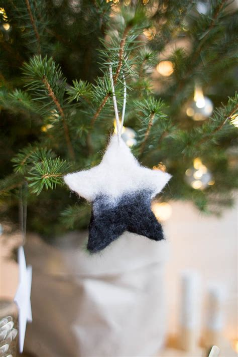 needle felted tree ornaments diy needle felted tree ornaments fall for diy