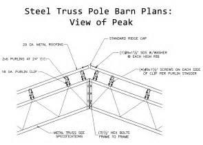 metal pole barn trusses diy pole barn plans free bonnie
