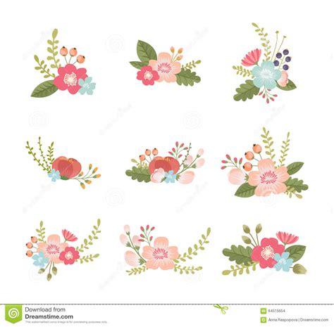 design elements flower shop floral design element stock vector image 64515654