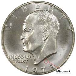sdc how much is a 1973 silver dollar worth
