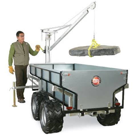 dr 174 power equipment introduces versa trailer pond trade
