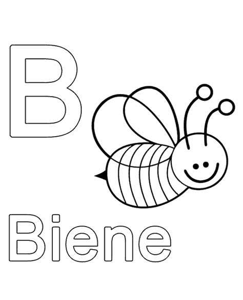 german alphabet coloring pages letter b to print or download for free