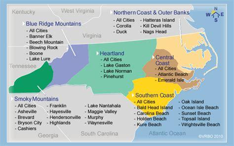 map of carolina coastal cities ce destinatie urmeaza vacation big in carolina de