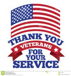 veterans day thank you design stock vector image 61315215