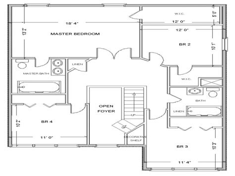 free house blue prints simple small house floor plans free house floor plan