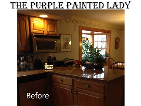 Professionally Painting Kitchen Cabinets are your kitchen cabinets dated before amp after photos