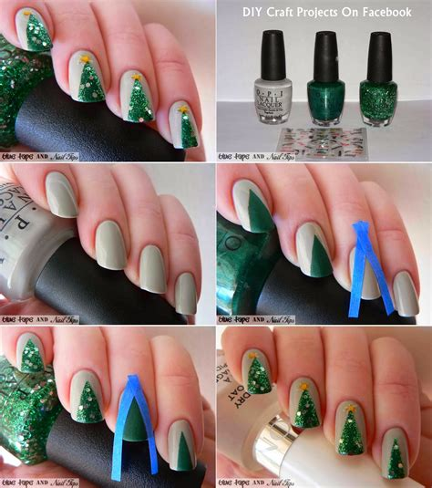 easy christmas nail art without tools 22 simple and easy nail art designs you can do yourself