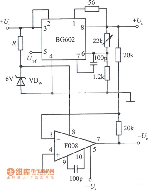 power supply integrated circuits tracking integrated regulated power supply bg602 circuit daigarm power supply circuit