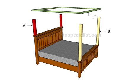 how to build a canopy bed how to make a bed canopy howtospecialist how to build