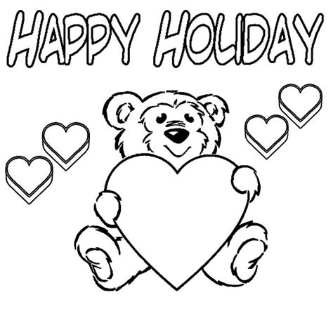 holidays coloring pages teddy bear fnaf coloring pages springtrap alltoys for