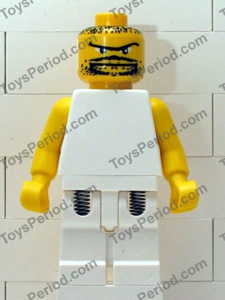Lego Part Yellow Minifig Beard With Goatee Connected Eyebrows lego 10121 nba basketball teams set parts inventory and