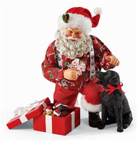 black santa up labrador retriever gifts lab ornaments decor