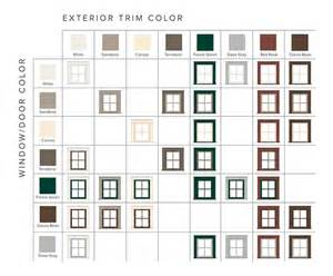 andersen window colors american farmhouse home style