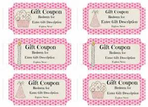 personalized coupon book template free custom birthday coupons customize print at