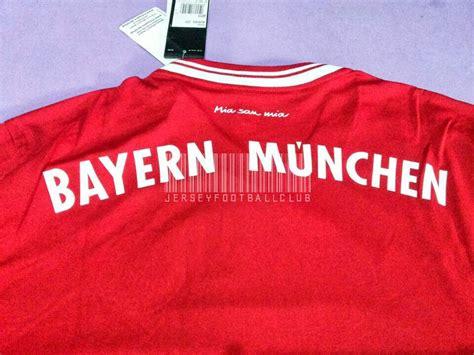 Jersey Grade Ori Bayern Munchen Home 2 jersey football club new jersey bayern munchen home