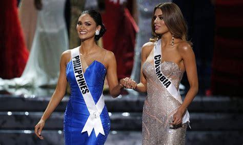 imagenes de miss universo 2015 colombia miss universo env 237 a un cari 241 oso mensaje a su compa 241 era