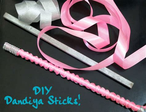 Dandiya Decoration Images by Diy Learn To Make Dandiya Sticks This Navratri Missmalini