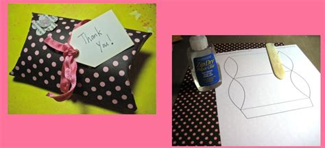 Gift Card Pillow Box Tutorial - gift card pillow box tutorial