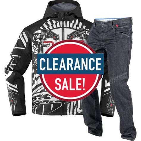 Motorcycle Gear Sale