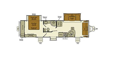 evergreen rv floor plans full specs for 2016 evergreen rv ever lite 292flbs rvs
