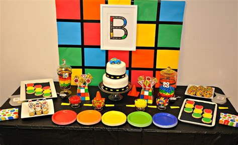 Sonoro Cubos Of Coloured Goodness by Subway B Lovely Events
