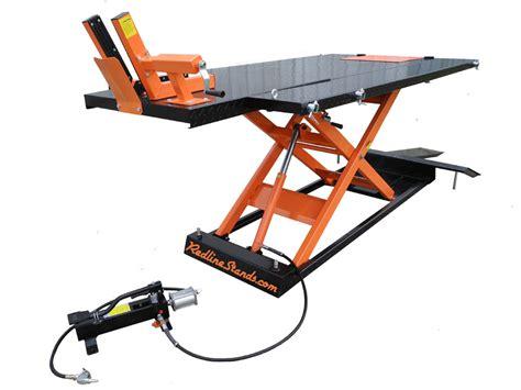 atv lift table redline 1500hd motorcycle atv lift table free shipping