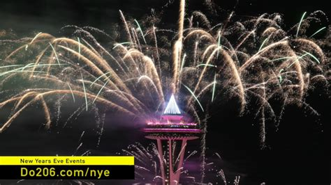 new year t mobile new years at the needle excelent