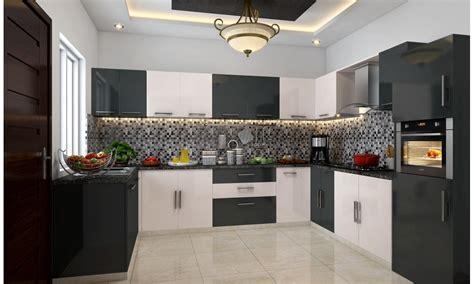 buy yin   shape modular kitchen   india