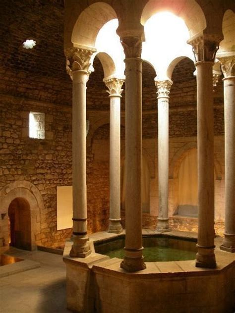 roman bathroom roman bath house in girona things i love pinterest