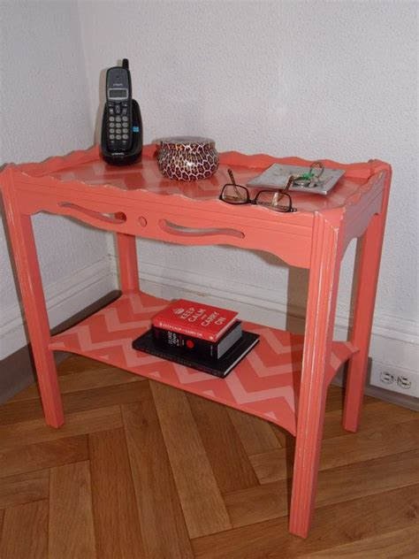 etsy chevron table 38 best images about refurbished with love furniture on