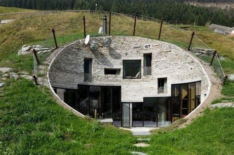 House Built Into Mountain by House Built Inside A Mountain In Swiss Alps Barnorama