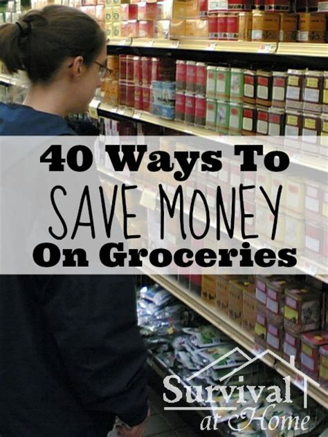 Ways To Save Money On Groceries by Save Money On Groceries With These Easy Tips