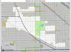 Chicago Cityscape - Map of building projects, properties ... 26th Ward Map