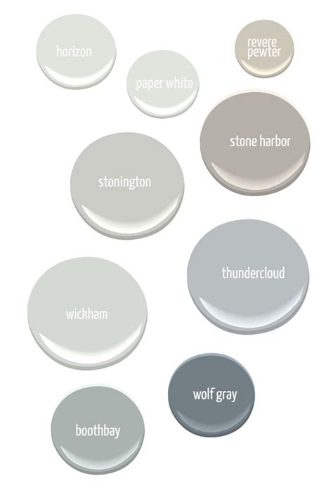 benjamin moore favorite grays gray paint colors from benjamin moore home decorating diy