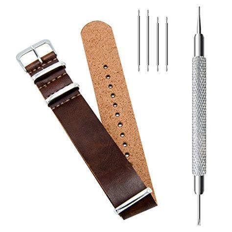 Nato Zulu 18mm 1 civo pu leather nato zulu swiss g10 band 18mm 20mm 22mm with stainless